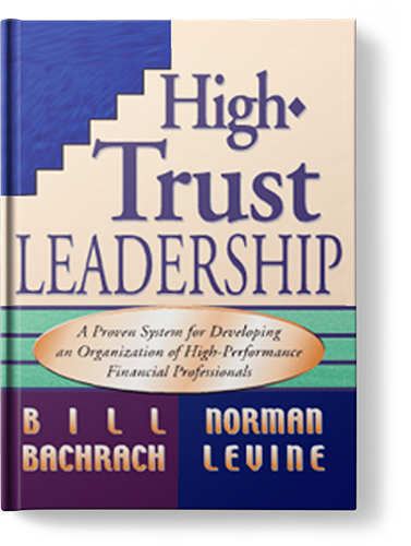 High Trust Leadership Book